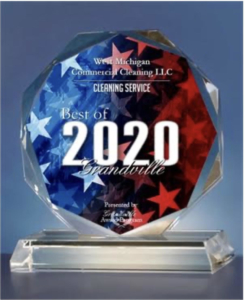 Best of Grandville Award 2020 - West Michigan Commercial Cleaning